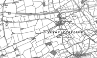 Old Map of Acton Turville, 1919