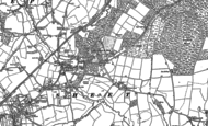 Old Map of Adhurst St Mary, 1895 - 1908