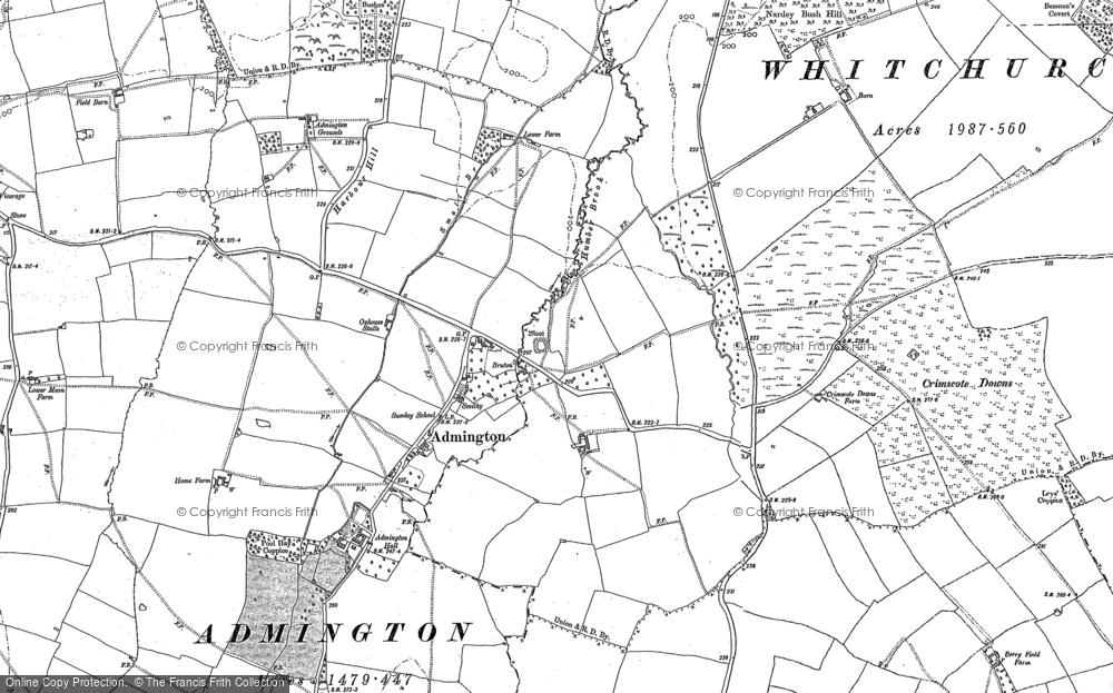 Admington, 1900