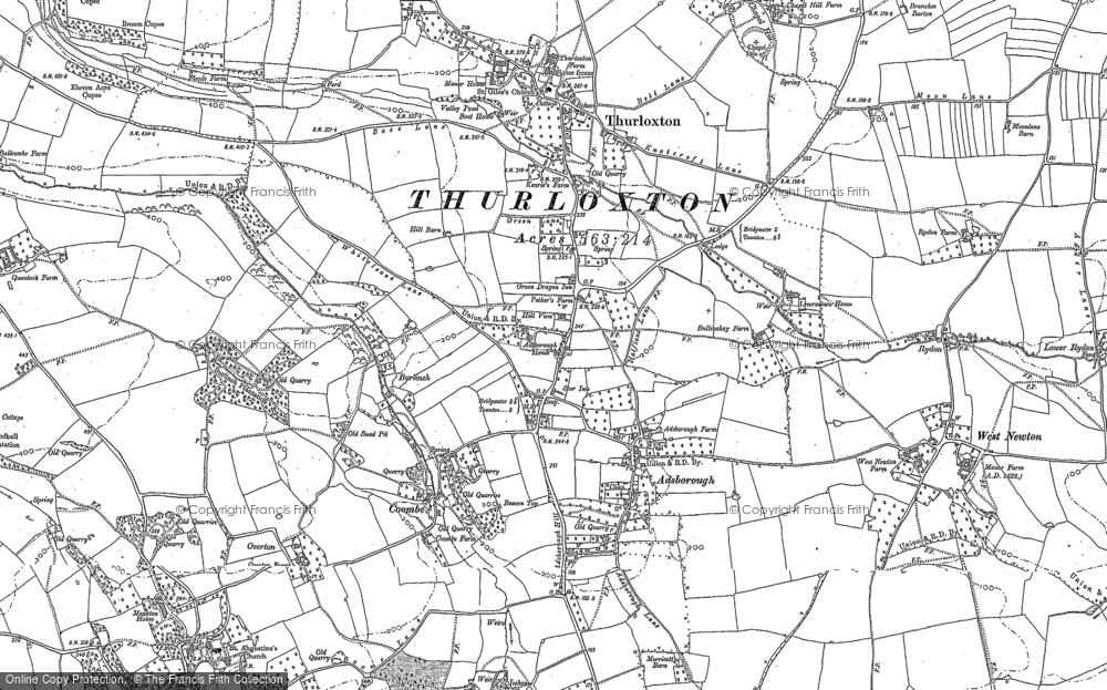 Adsborough, 1887
