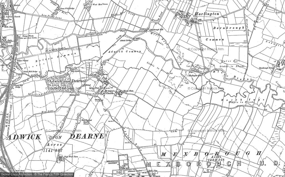 Adwick upon Dearne, 1890