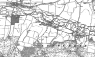 Old Map of Affpuddle, 1885 - 1886