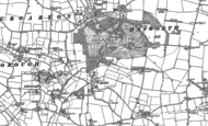 Old Map of Alby Hill, 1885 - 1905