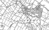 Old Map of Alconbury, 1887