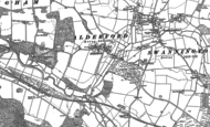 Old Map of Alderford, 1882 - 1885