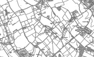 Map of Aley Green, 1899 - 1900
