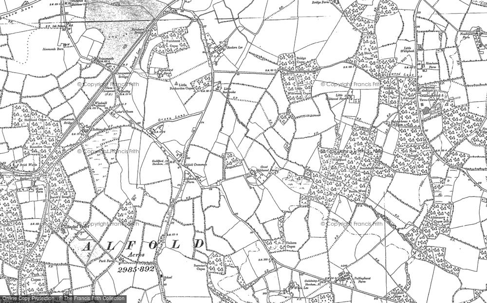 Alfold Crossways, 1895 - 1913