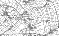 Old Map of All Saints South Elmham, 1882 - 1903