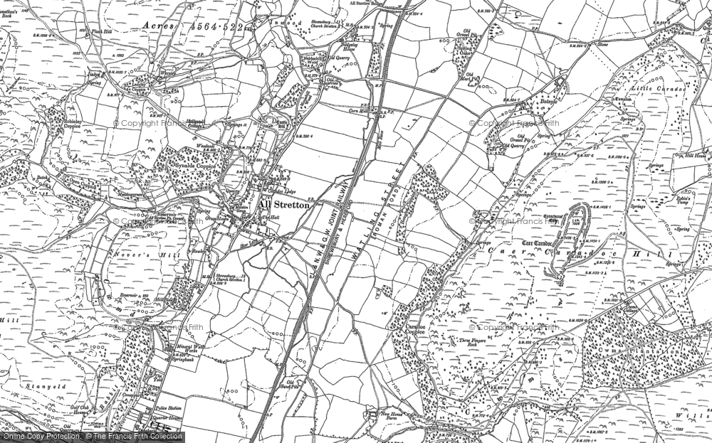 All Stretton, 1882