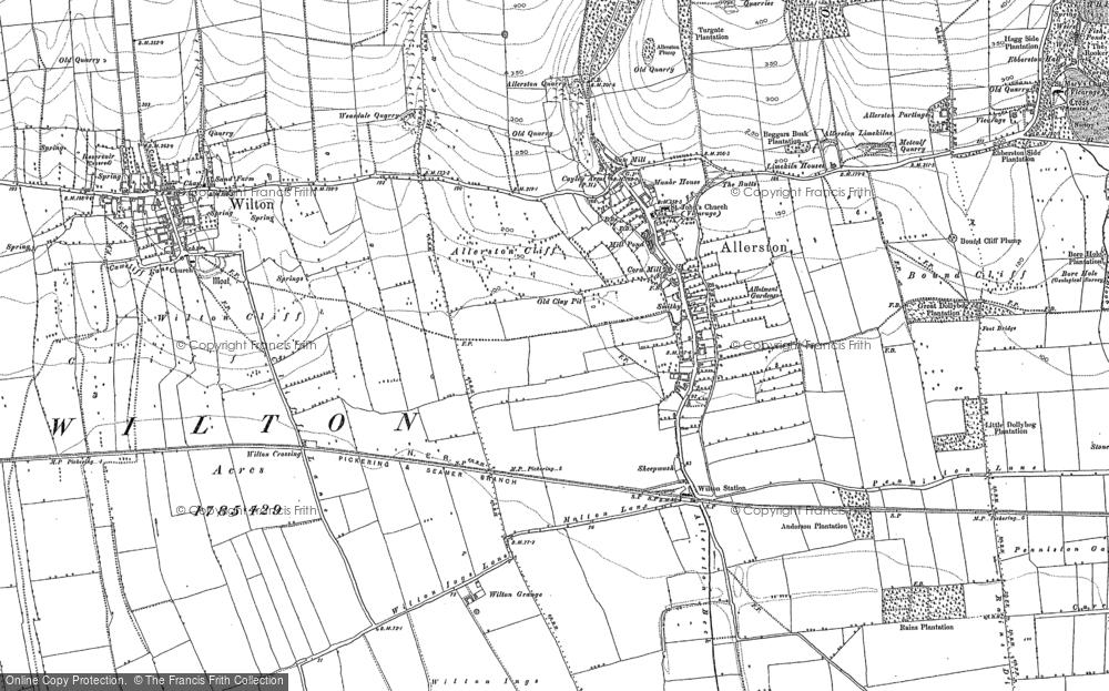 Allerston, 1889 - 1890