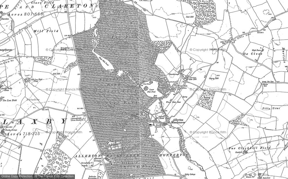 Allerton Park, 1892