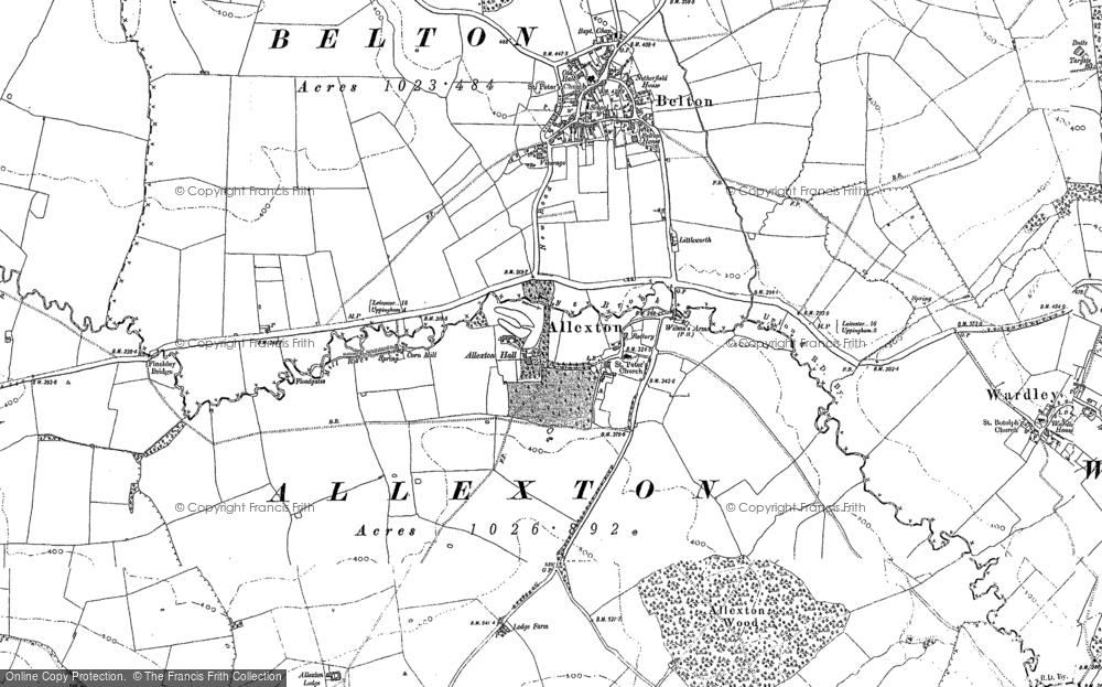 Allexton, 1902