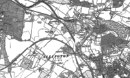 Old Map of Allington, 1895 - 1896