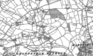 Old Map of Allington, 1899 - 1920