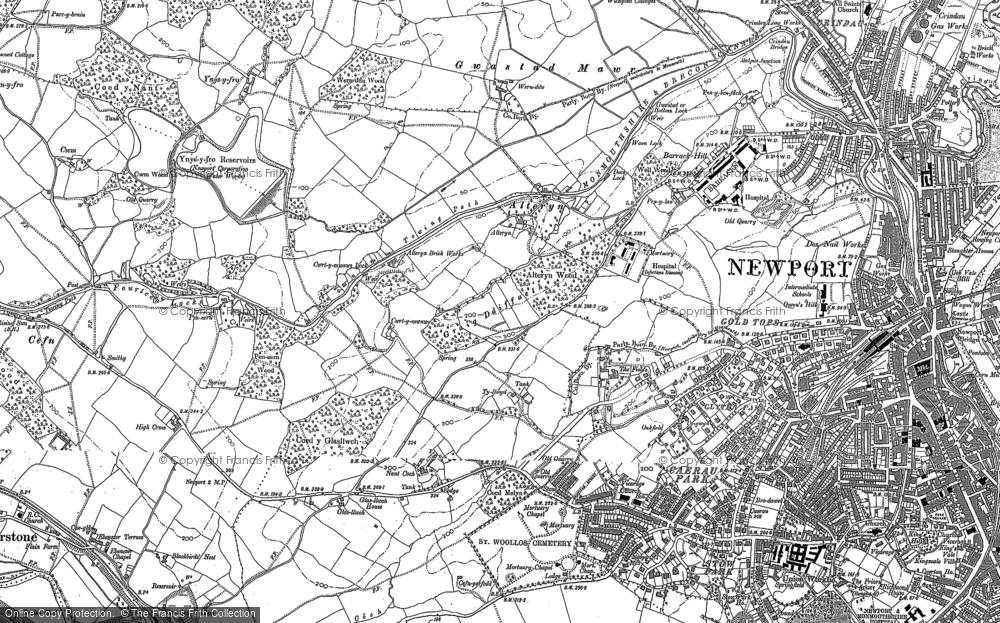 Allt-yr-yn, 1900