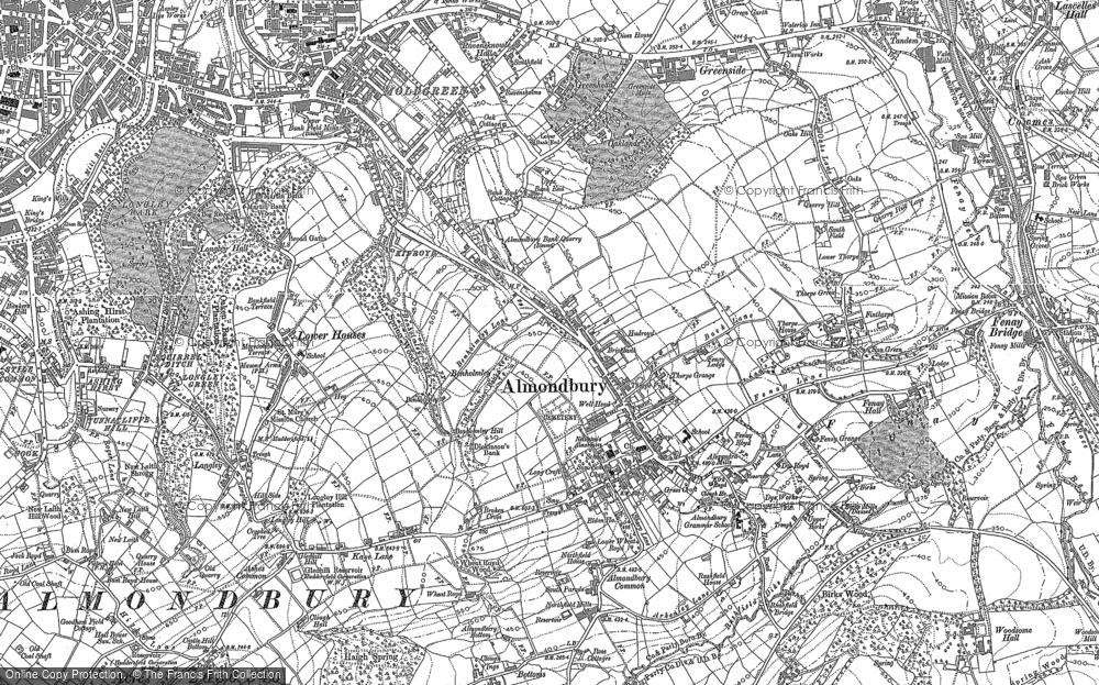 Almondbury, 1888 - 1892