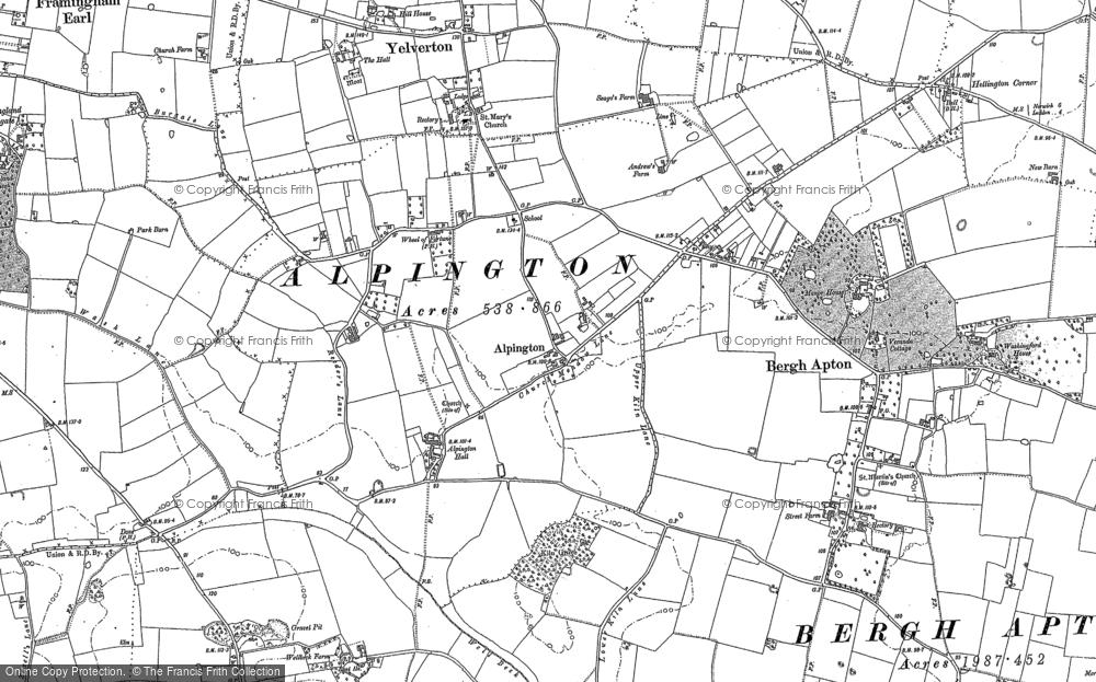 Alpington, 1881 - 1884