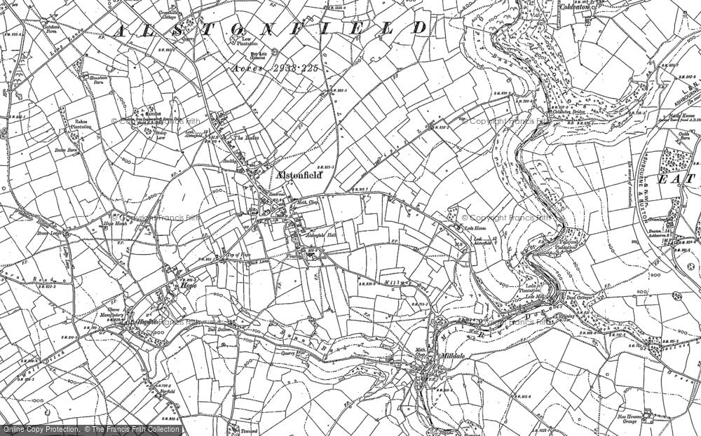 Alstonefield, 1898