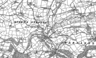 Old Map of Alswear, 1886
