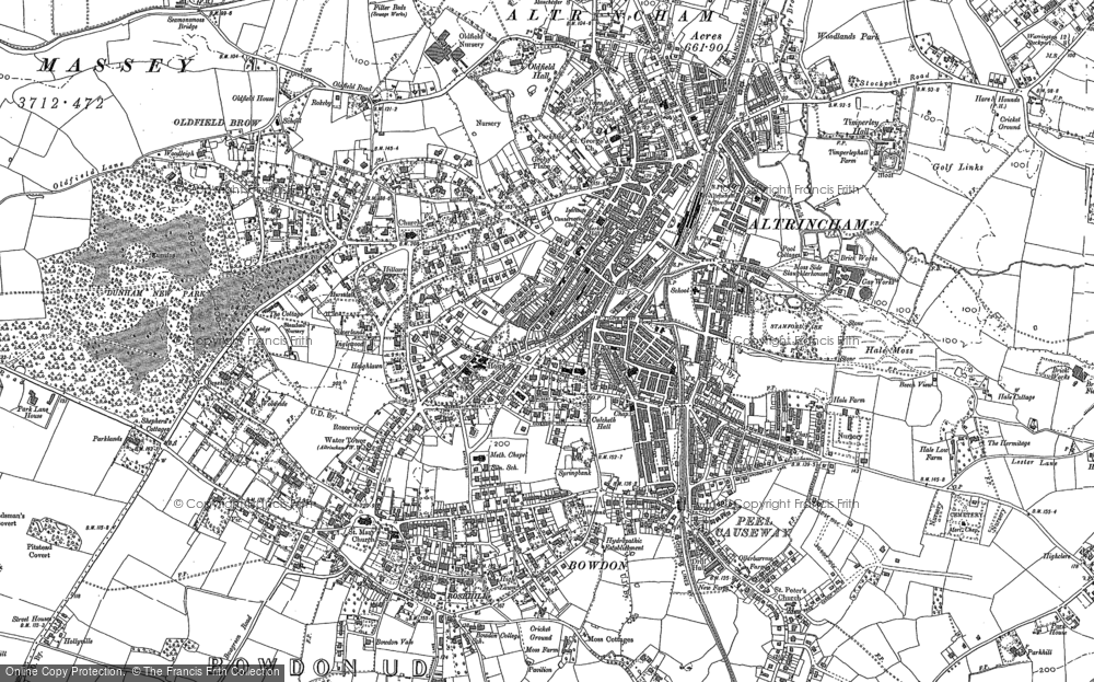 Old Map of Altrincham, 1897 in 1897
