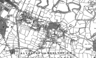 Old Map of Alvaston, 1881 - 1899