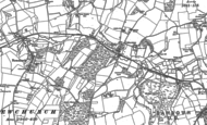 Old Map of Alverstone, 1896 - 1907