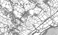 Old Map of Alvington, 1880 - 1900