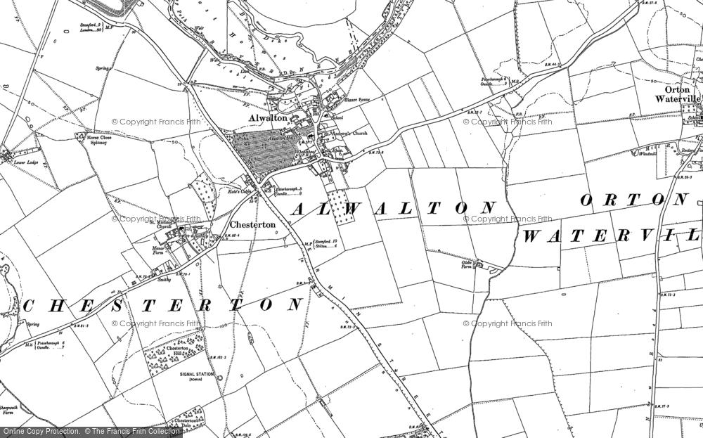 Alwalton, 1887 - 1899