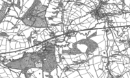 Old Map of Ammerham, 1901