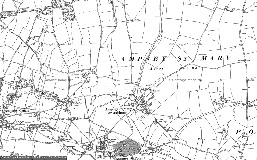Ampney St Mary, 1875 - 1882
