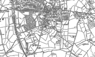 Old Map of Ampthill, 1882