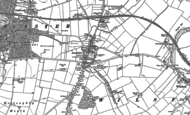 Old Map of Ancaster, 1887