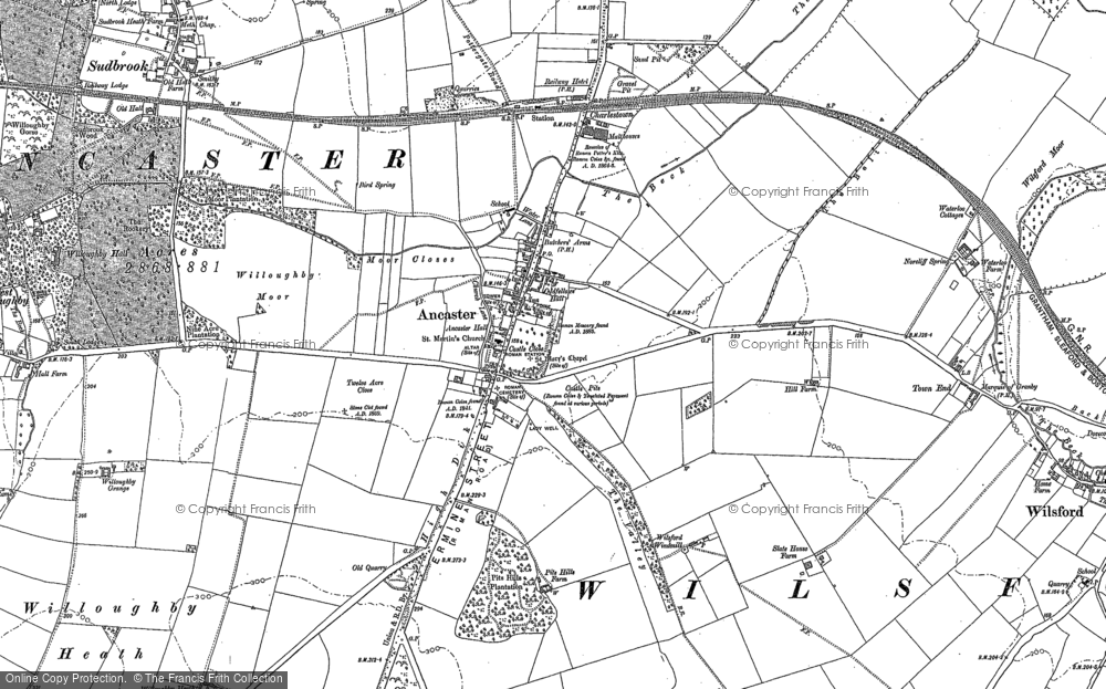 Ancaster, 1887