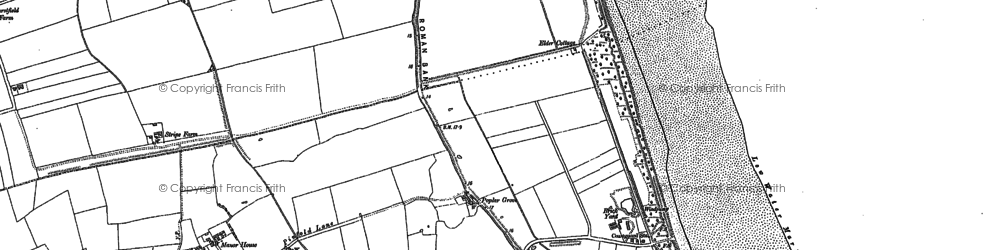 Old map of Anderby Creek in 1905