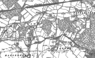 Old Map of Andwell, 1894
