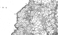 Old Map of Anelog, 1899