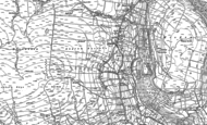 Old Map of Angram, 1891 - 1950