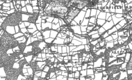 Old Map of Ansty, 1896 - 1897