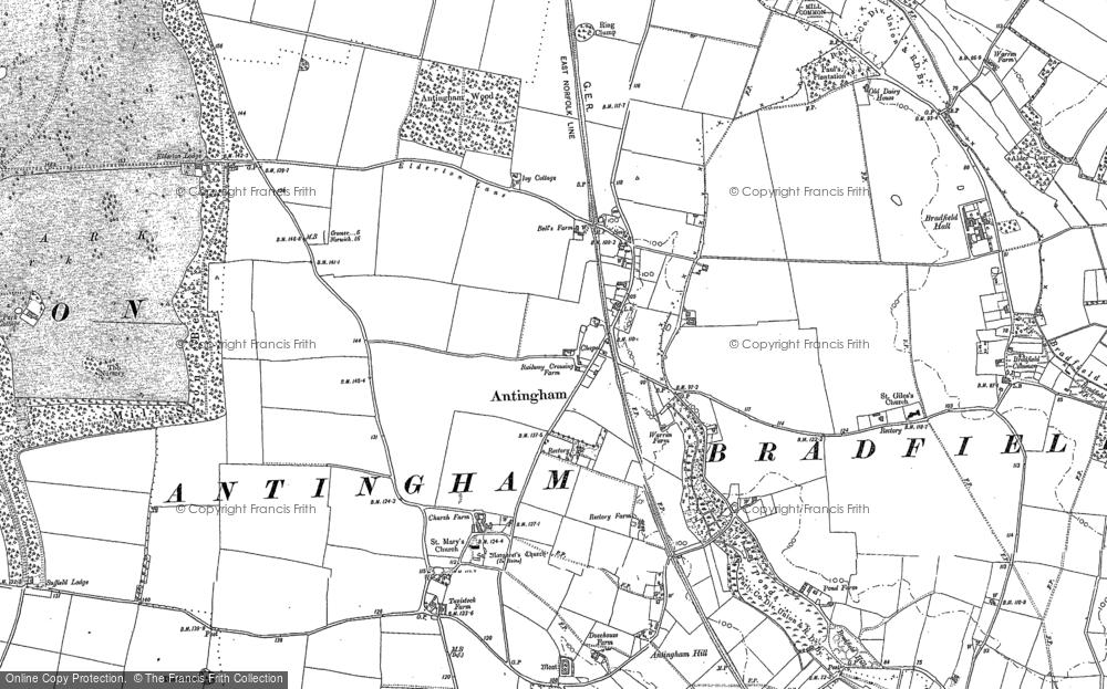 Antingham, 1884 - 1905