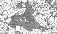 Old Map of Arbury, 1886 - 1902
