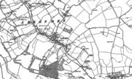 Old Map of Arkesden, 1896