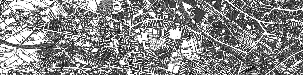 Old map of Armley in 1847