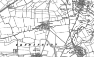 Old Map of Armscote, 1885 - 1904