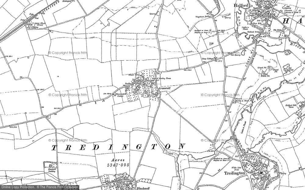 Armscote, 1885 - 1904