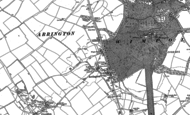 Old Map of Arrington, 1886 - 1901