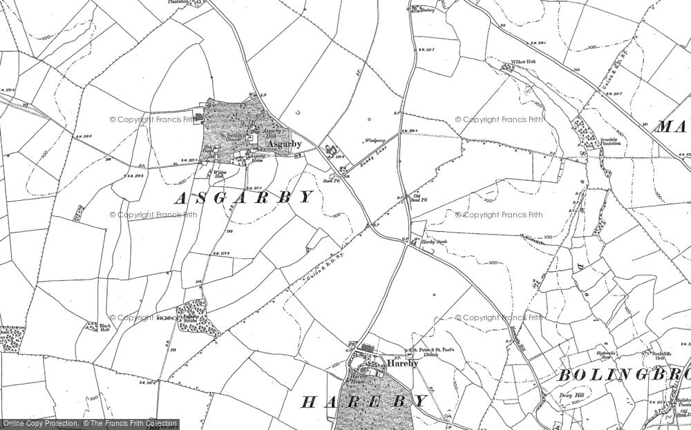 Asgarby, 1887
