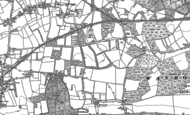 Old Map of Ash Green, 1895 - 1913