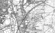 Old Map of Ash Vale, 1895 - 1913