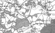 Old Map of Ashampstead Common, 1898 - 1910