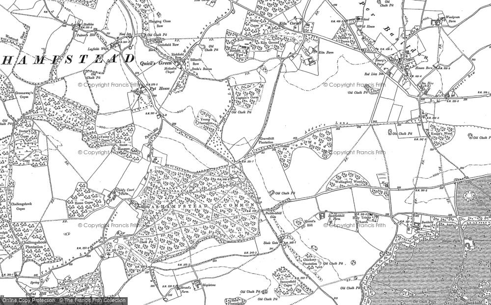 Ashampstead Common, 1898 - 1910